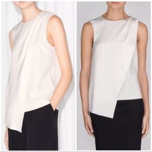 & Other Stories Draped Asymmetric Top